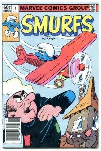 Smurfs #1 1982- Marvel Comics VF