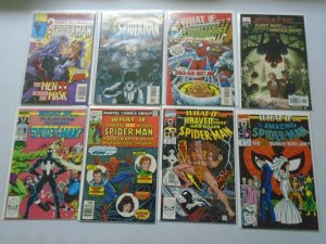 What If? lot 15 different Spider-Man issues avg 8.0 VF