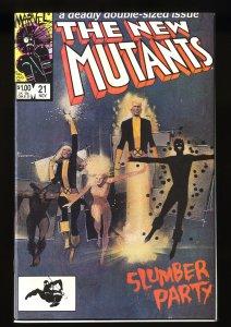 New Mutants #21 NM 9.4