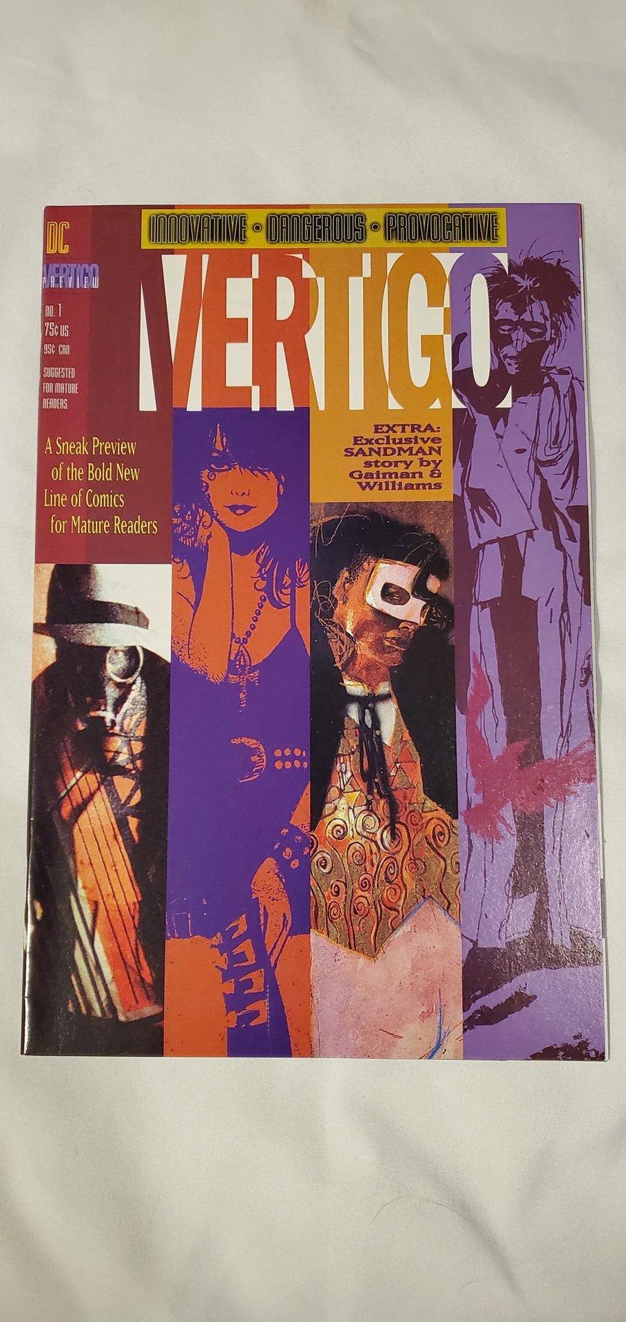 Vertigo Preview #1 Exclusive Sandman Story ~ NEAR MINT NM ~ 1992 DC Comics