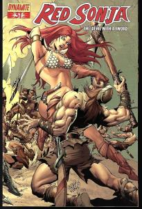 Red Sonja #31 (Dynamite Entertainment)- Pablo Marcos Cover
