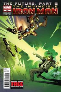 Invincible Iron Man (2011 series) #526, NM + (Stock photo)
