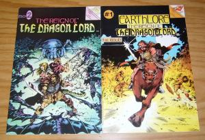 Earthlore: the Reign of the Dragon Lord #1-2 VF complete series - eternity set