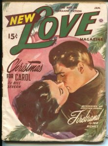 New Love 1/1950-female pulp authors-pin-up girl cover art-VG
