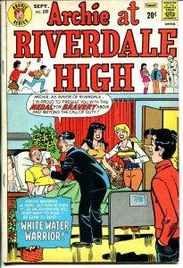 Archie at Riverdale High  #10  1973-Betty-Veronica-Li'l Jinx-African-American-VG