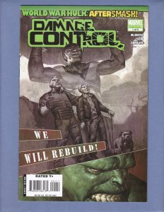 World War Hulk Damage Control #1 NM- Marvel 2008