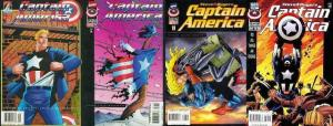 CAPTAIN AMERICA 450-453  Man Without A Country