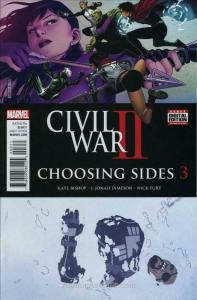 Civil War II: Choosing Sides #3 VF/NM; Marvel   save on shipping - details insid