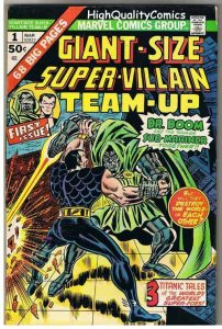 GIANT-SIZE SUPER-VILLAIN TEAM-UP #1, FN/VF, Dr Doom, 1975, Doctor