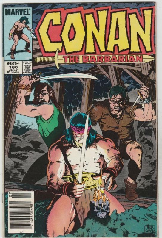 Conan the Barbarian #160 (Jul-84) VF Mid-High-Grade Conan the Barbarian