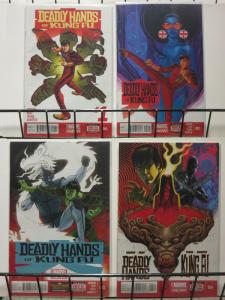 DEADLY HANDS OF KUNG FU (2014) 1-4  Shang-Chi & co...!