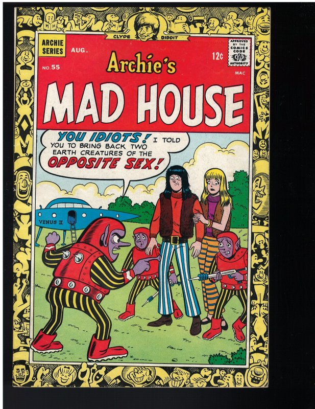 Archie's Madhouse #55 (1967)