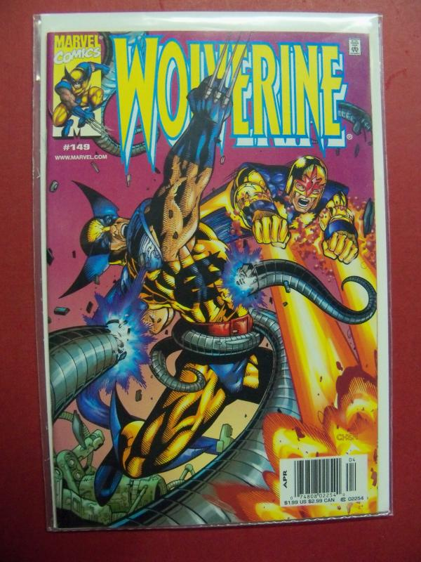 WOLVERINE #149 (9.0 to 9.4 or better) 1988 Series MARVEL COMICS