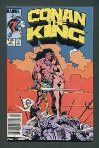 King Conan #33 / 7.5 VFN-  Newsstand  March 1986