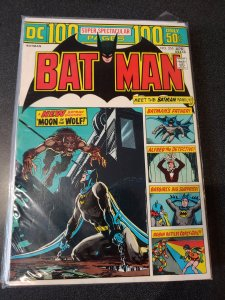 BATMAN #255 BRONZE AGE CLASSIC  OVER-SIZED 100 PAGES
