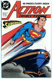 Action Comics Weekly 617 Sep 1988 NM- (9.2)