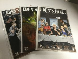 Eden's Fall 1 2 3 Nm Near Mint Cover A Lot Top Cow
