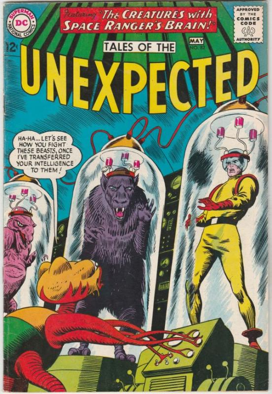 Tales of the Unexpected #82 (May-64) VF+ High-Grade Space Ranger, Cyrl