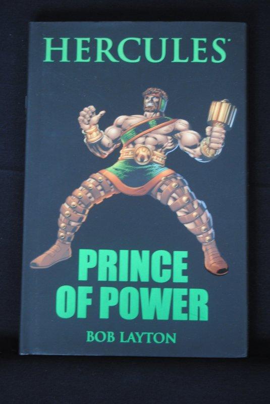 Hercules, Prince of Power, Bob Layton Hardcover