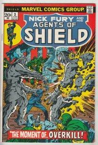Nick Fury and His Agents of S.H.I.E.L.D. #3 (Jun-73) NM/NM- High-Grade Nick F...