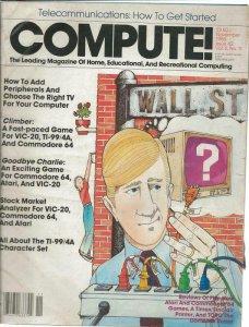 ORIGINAL Vintage Compute Magazine #42 November 1983 Atari Commodore 64 Vic 20