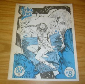 Portia Prinz #5 FN richard howell - ground level underground comix super-heroine