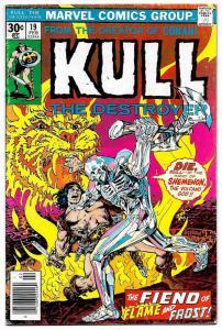 Kull The Destroyer #19 (Marvel, 1977) FN