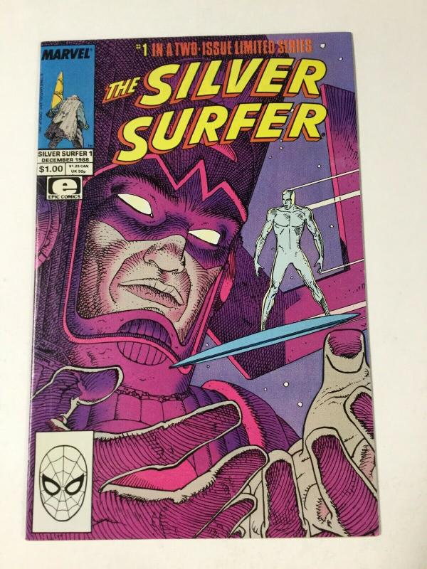 Silver Surfer 1 Nm Near Mint Limited Series Moebius Marvel