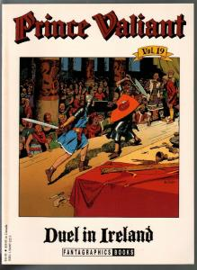 Prince Valiant #19 1990-Fantagraphics-color reprint-Hal Foster-Duel In Ireland-V