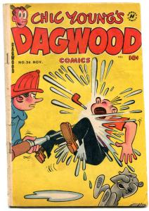 DAGWOOD #24-1952-HARVEY-CHIC YOUNG-BLONDIE-good/vg