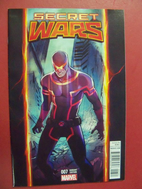 SECRET WARS #7   VARIANT COVER, MARVEL