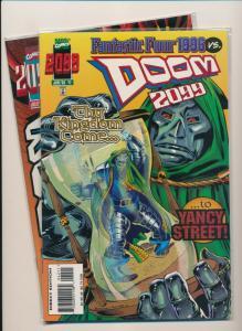MARVEL Comics Set of 2-DOOM 2099 #42-#43 1996  VF/NM (PF735)