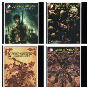Army of Darkness: Ashes 2 Ashes 1-4 (Dynamite, 2004-2005)
