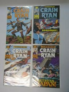 Crash Ryan set #1-4 8.0 VF (1984)