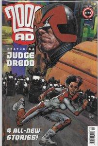 2000 AD #1250 VG Judge Dredd by Ennis/Ezquerra, Fabry cover, Nikolai Dante