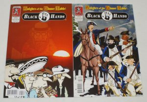 Knights of the Dinner Table: Black Hands 2010 Special #1-2 VF/NM complete series