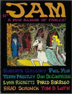 Jam #1 (1977) Underground Comix - RARE