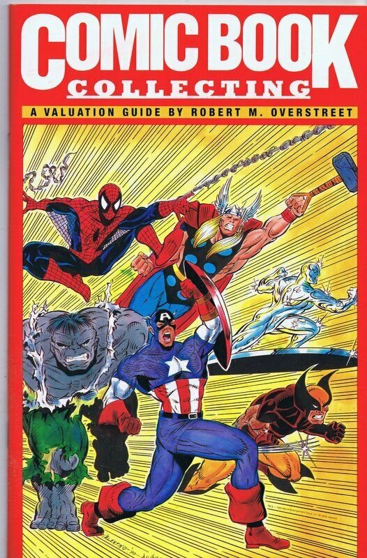 Comic Book Collecting, A Valuation Guide ORIGINAL Vintage 1992 Overstreet Spidey