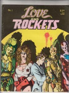 Love and Rockets #1 (Jul-82) VF High-Grade
