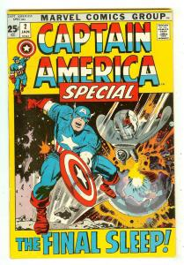 Captain America Special 2