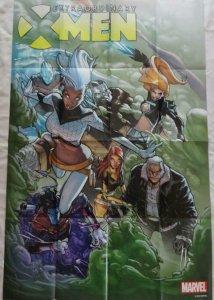 EXTRAORDINARY X-MEN Promo Poster, 24 x 36, 2015, MARVEL, Unused 182