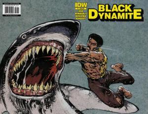 Black Dynamite #1B VF/NM; IDW | save on shipping - details inside