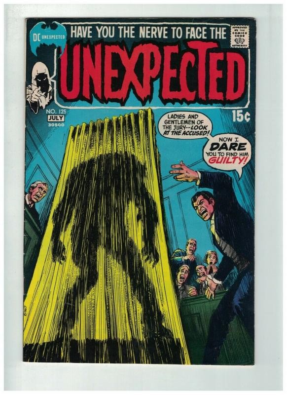 UNEXPECTED (TALES OF) 125 FINE   July 1971