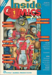 Inside Comics #1 FN; Double Barrel | save on shipping - details inside