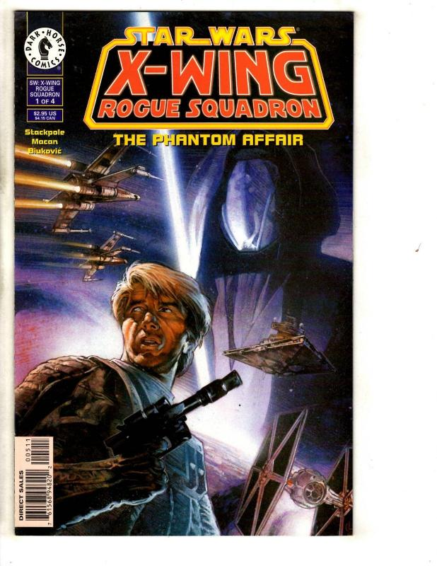 Star Wars X-Wing Rogue Squadron Phantom Affair # 1 NM Dark Horse Comic Book SS10