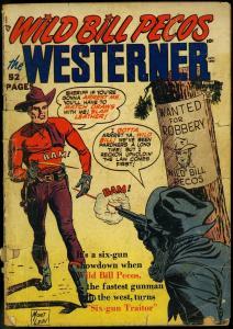 WILD BILL PECOS THE WESTERNER #29 1950   MORT LAWRENCE FR