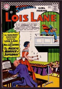SUPERMAN'S GIRL FRIEND LOIS LANE #65 1966-MRS LUTHOR-DC VG