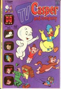 TV CASPER & COMPANY (1963-1974) 46 VF-NM  April 1974 COMICS BOOK
