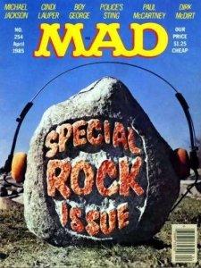 Mad (1952 series) #254, Fine (Stock photo)