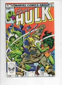 HULK #282, VF/NM, Incredible, Bruce Banner, Buscema, 1968 1983, Marvel
